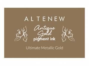 Bilde av Altenew Antique Gold Pigment Ink