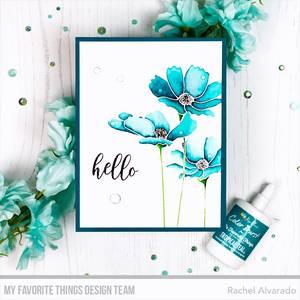 Bilde av MFT Flowers in Bloom stamp set