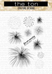 Bilde av The Ton Pyrotechnics stamp set