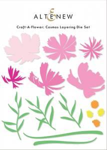 Bilde av Altenew Craft-A-Flower: Cosmos Layering Die Set