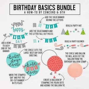 Bilde av Concord & 9th Birthday Basics Dies
