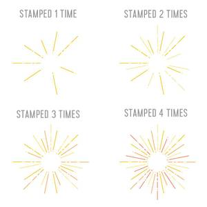 Bilde av Concord & 9th Hello Sunshine Turnabout Stamp Set