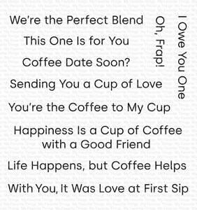 Bilde av MFT Cup of Love stamp set