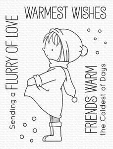 Bilde av MFT Warmest Wishes stamp set