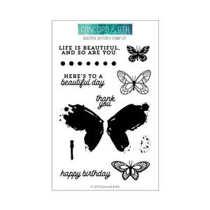 Bilde av Concord & 9th Beautiful Butterfly stamp set