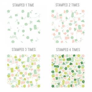 Bilde av Concord & 9th Birthday Basics Turnabout Stamp Set