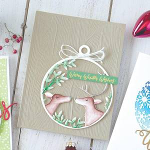 Bilde av Hero Arts Deer and Ornament Fancy Die