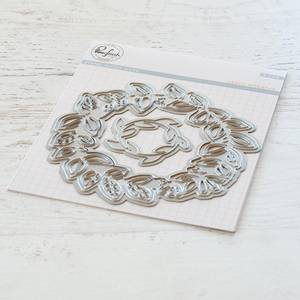 Bilde av Pinkfresh Studio Leafy Wreaths die set