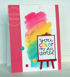 Bilde av Paper Smooches I Heart Art Stamp Set