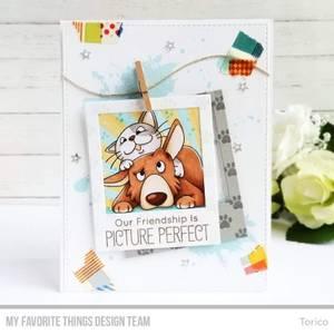 Bilde av MFT Picture Perfect stamp set