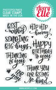Bilde av Avery Elle So Kind Clear Stamps