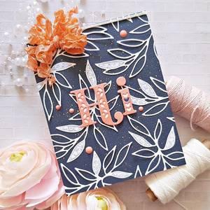 Bilde av Pinkfresh Studio Leafy Branch die set