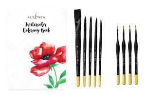 Bilde av Altenew Coloring Book and Watercolor Brushes