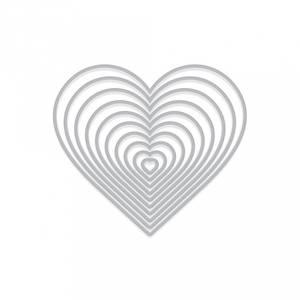 Bilde av Hero Arts Nesting Hearts Infinity Dies