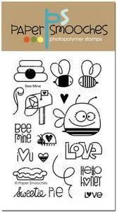 Bilde av Paper Smooches Bee Mine Stamp Set