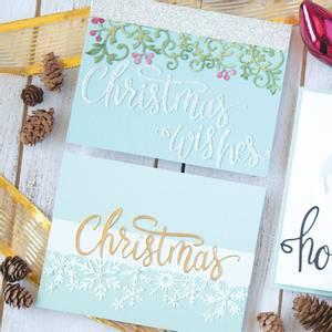 Bilde av Hero Arts Christmas Word Fancy Die