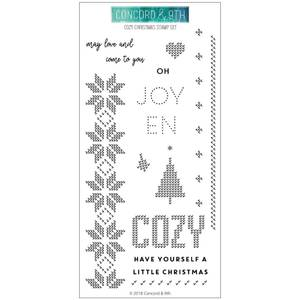 Bilde av Concord & 9th Cozy Christmas Stamp Set
