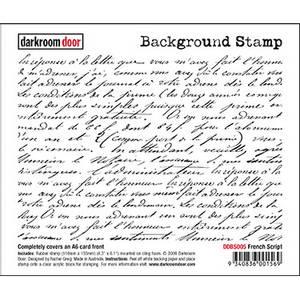 Bilde av Darkroom Door Background Stamp - Elegant Script