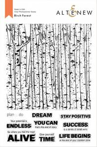 Bilde av Altenew Birch Forest Stamp Set