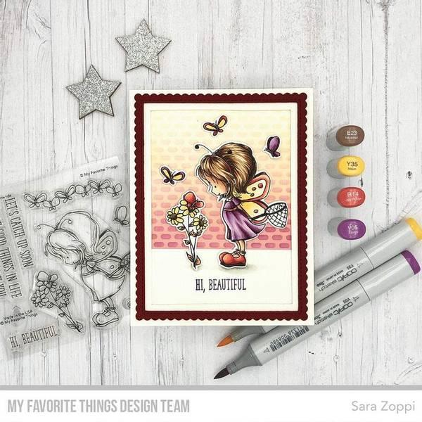 MFT Flutterby Friends stamp set