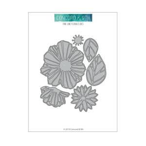 Bilde av Concord & 9th Fine Line Florals Dies