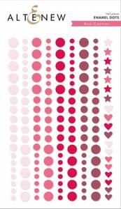 Bilde av Altenew Red Cosmos Enamel Dots