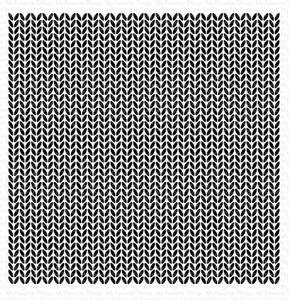 Bilde av MFT Knitted Sweater Background stamp