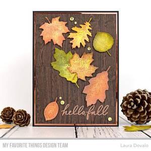 Bilde av MFT Wood Plank Background stamp