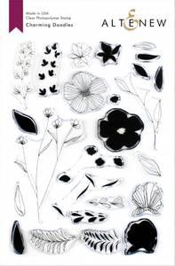 Bilde av Altenew Charming Doodles Die Set