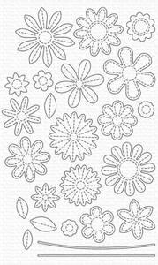 Bilde av MFT Stitches Flowers dies
