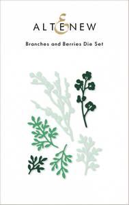 Bilde av Altenew Branches and Berries Die Set