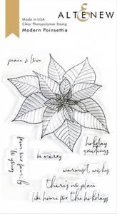 Bilde av Altenew Modern Poinsettia Mask Stencil