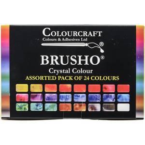 Bilde av Colourcraft Brusho Set 24