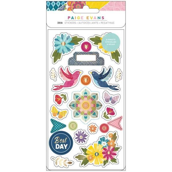 American Crafts/ Paige Evans Wonders Sticker book
