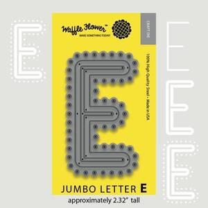 Bilde av Jumbo Letter E Die