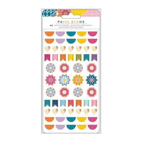 American Crafts/ Paige Evans Wonders Puffy Stickers