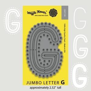 Bilde av Jumbo Letter G Die