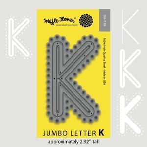 Bilde av Jumbo Letter K Die