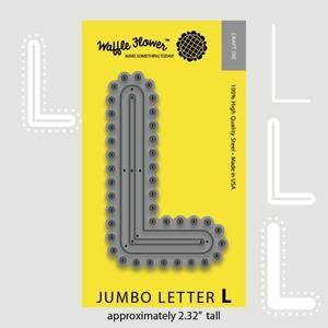 Bilde av Jumbo Letter L Die
