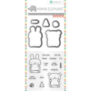 Bilde av Mama Elephant Dos Amigos Stamp & Die Set