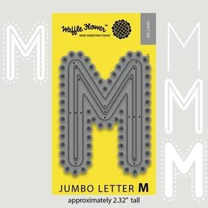 Bilde av Jumbo Letter M Die