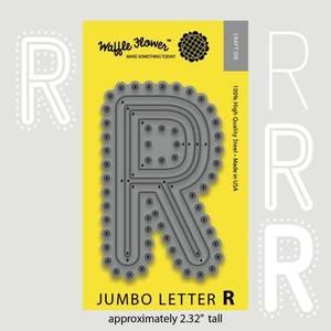 Bilde av Jumbo Letter R Die