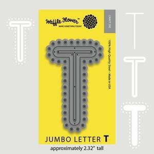 Bilde av Jumbo Letter T Die