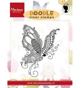 Bilde av Marianne Design Doodle Butterfly Stamp