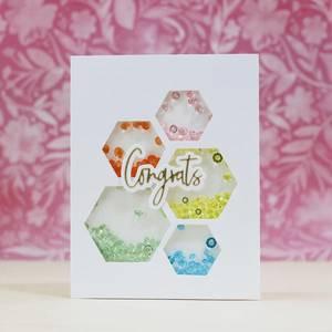 Bilde av Pinkfresh Studio Basic Label Frames die set