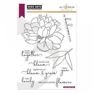 Bilde av Hero Arts + Altenew Bloom & Grow stamp set
