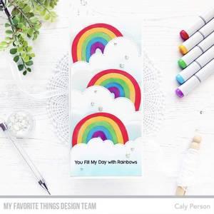 Bilde av MFT Rainbow Whimsy die