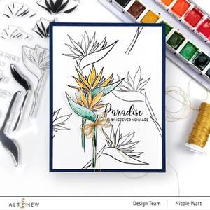 Bilde av Altenew Bird of Paradise Stamp Set