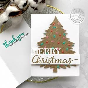 Bilde av Hero Arts Christmas Lights Bold Prints