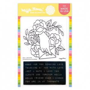 Bilde av Waffle Flower Love Letter Stamp Set